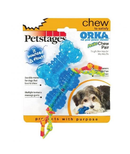 "Orka Petite Chew Pair 1.5"", 狗狗產品, Petstages"