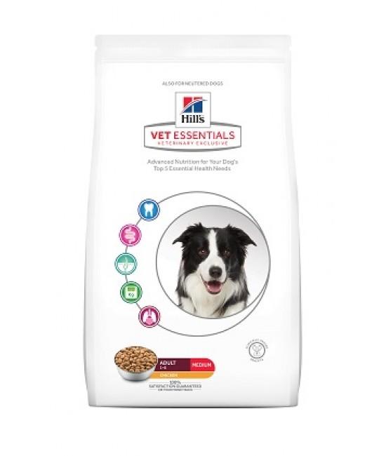 Hill's VetEssentials  獸醫保健寵物食品-中型成犬糧 2kg, 狗狗產品, Hill's 希爾思