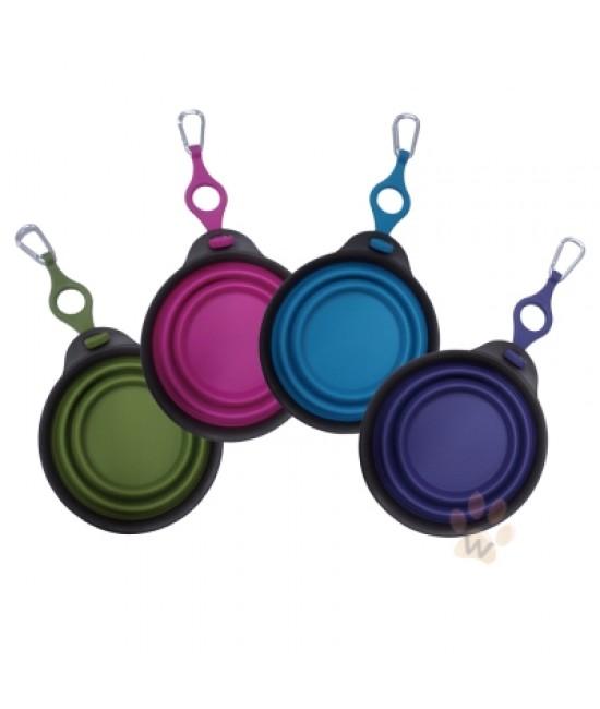DEXAS 圓形折疊碗連水樽扣