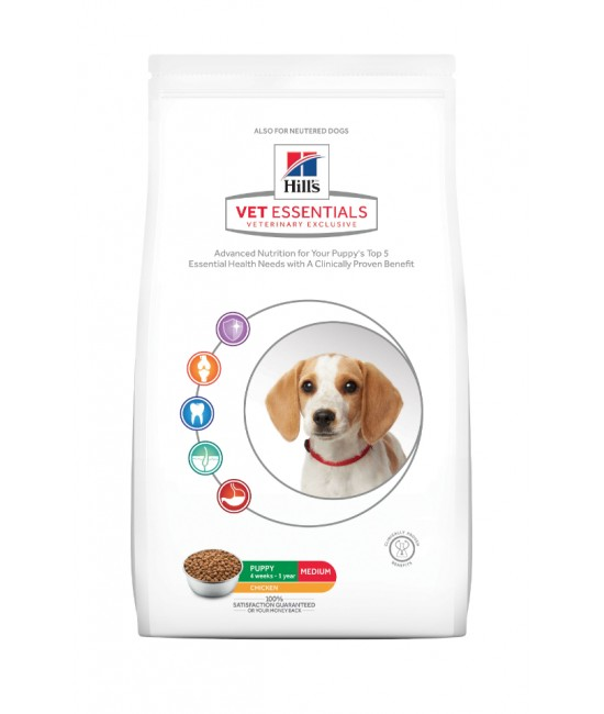 Hill's VetEssentials  獸醫保健寵物食品-中型幼犬糧 2kg, 狗狗產品, Hill's 希爾思