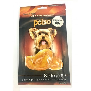 PETSO雞肉條小食(三文魚味)