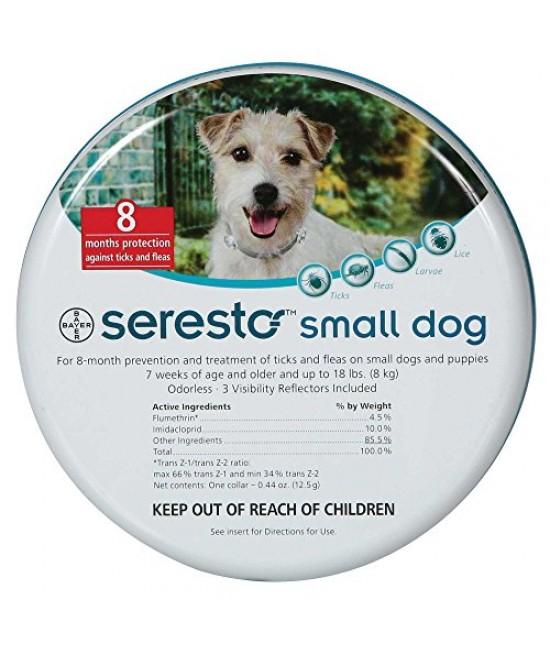 Bayer Seresto防蚤帶 (小型犬)