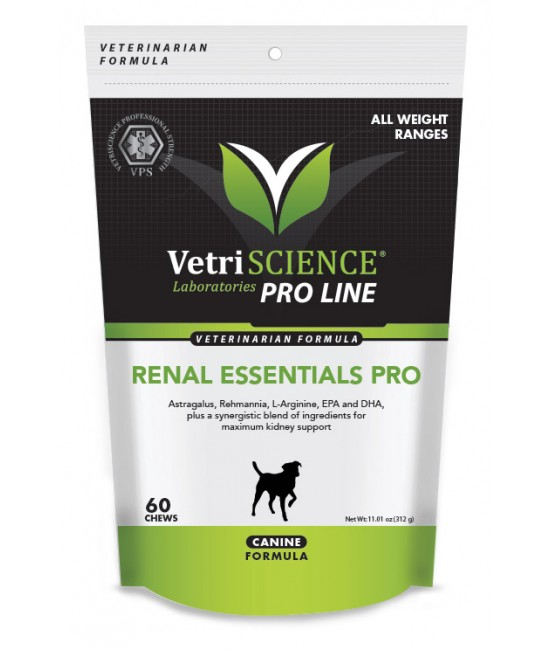 Renal Essentials PRO Canine Bite-Sized Chews 60, 狗狗產品, Vetri-Sciences