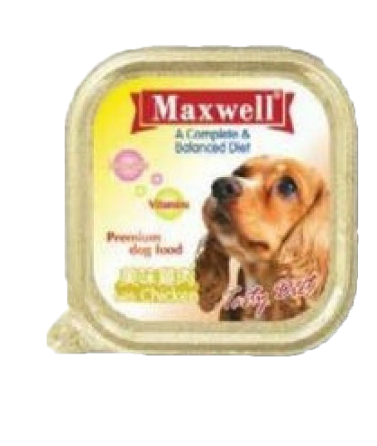Maxwell鮮嫩雞肉100G(32)黃, 狗狗產品, MAXWELL