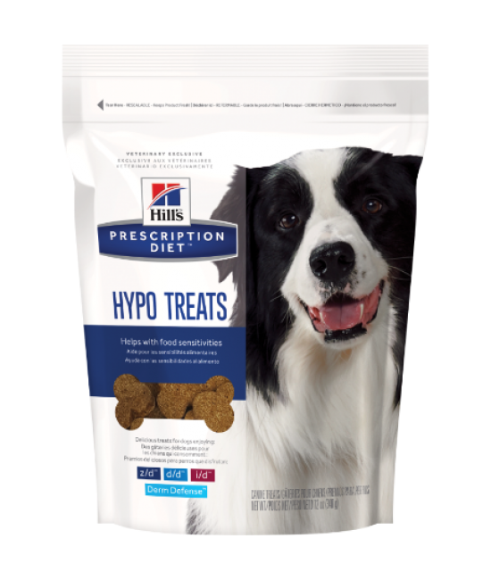 Hill's Prescription Diet Hypo-Treats 皮膚與食物敏感配方狗小食 - 12oz, 狗狗產品, Hill's 希爾思