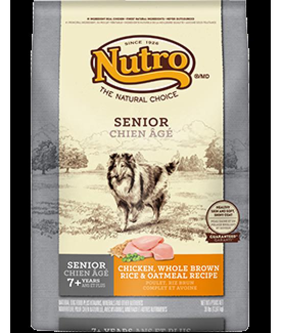 NUTRO 中型高齡犬雞肉及全糙米配方, 狗狗產品, Nutro Natural Choice