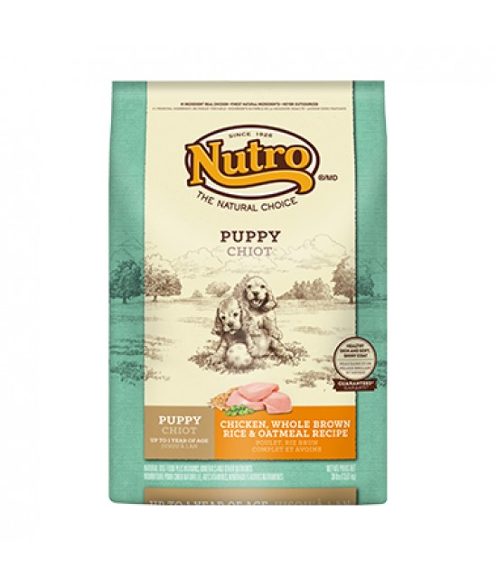 Nutro 雞肉及全糙米配方幼犬糧