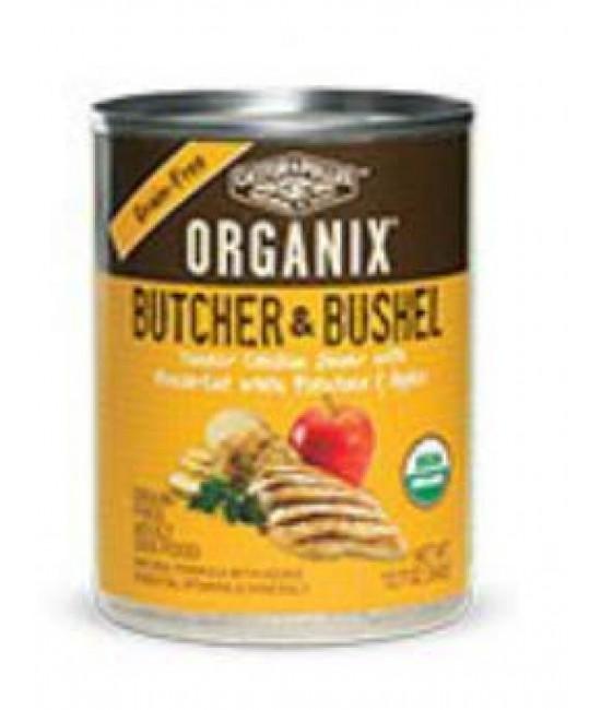 Organix 成犬有機無穀物雞肉+馬鈴薯+蘋果肉粒狗罐頭12.7oz (12), 狗狗產品, Organix(美國)