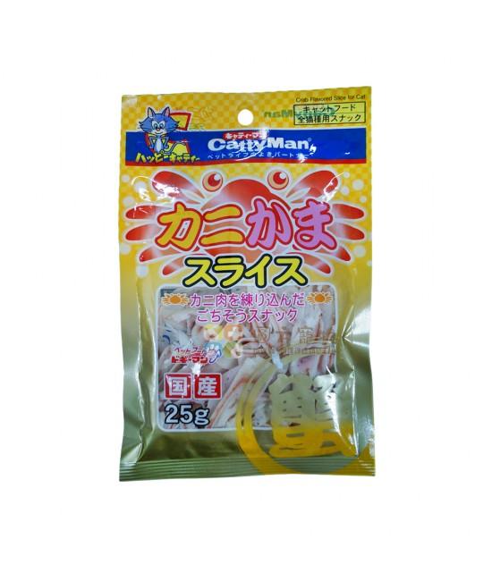 Cattyman 蟹柳銀雪鱈魚絲 (25g)