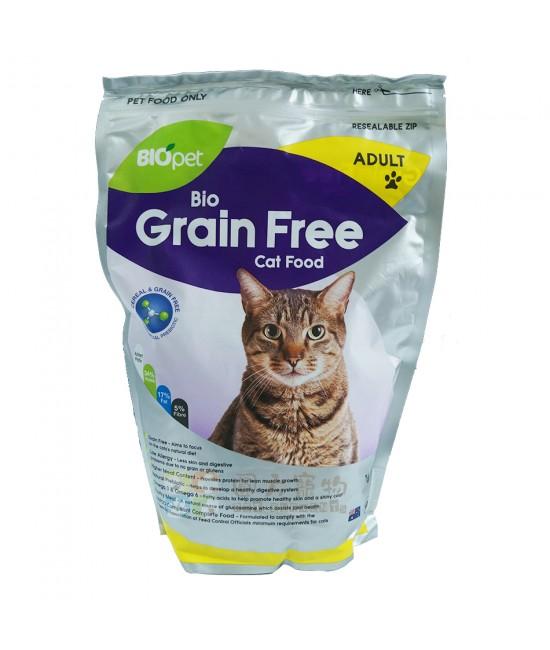 BIOpet 無穀物成貓糧 - 1kg