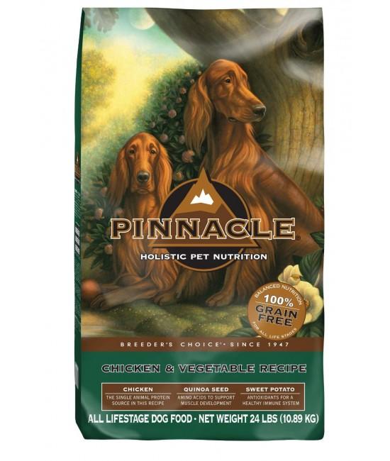 Pinnacle 無穀物雞肉+疏菜全犬糧