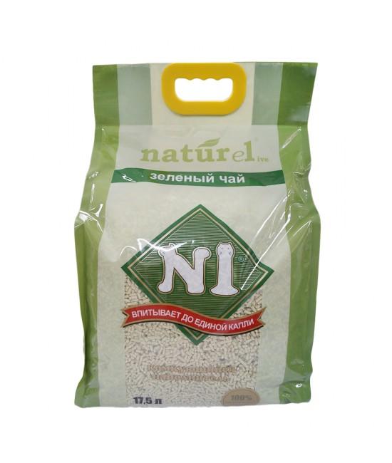 N1 Naturel 天然綠茶玉米豆腐貓砂 - 17.5L, 貓貓產品, N1 Naturel