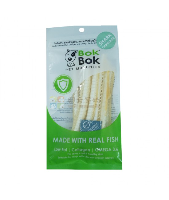 BOK BOK 鯊魚軟骨狗小食 - 50g