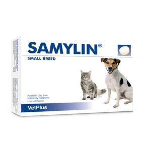 Samylin Liver Supplement Small Breed Tablets - 30 Sachets