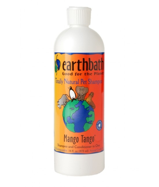 Earthbath 芒果探戈2合1洗毛液 - 16oz, 貓貓產品, Earthbath