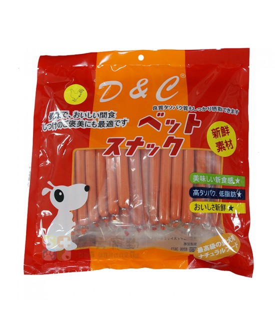 D&C 雞肉腸 5包裝
