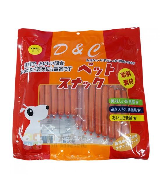 D&C 牛肉腸狗小食 - 5包裝
