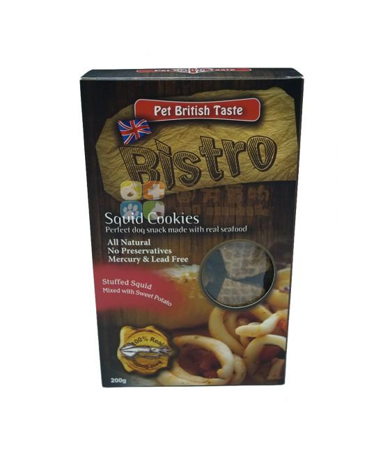 Bistro 英國BT烘乾曲奇狗小食(魷魚)- 200g