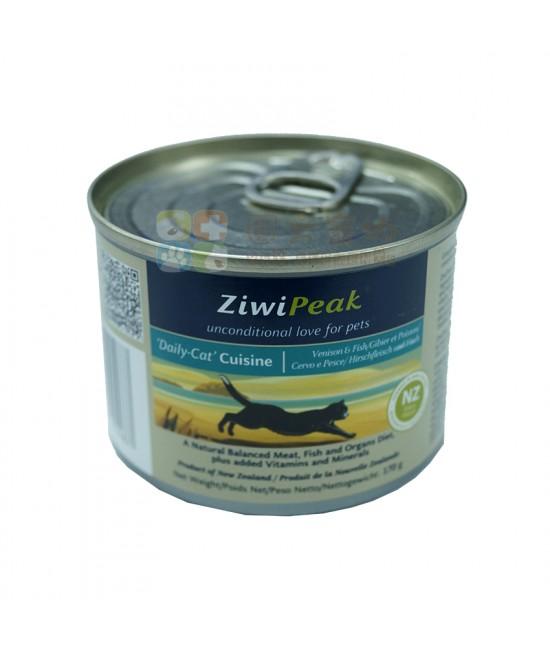 ZiwiPeak 鹿肉魚肉貓罐頭 - 6oz, 貓貓產品, ZiwiPeak 巔峰