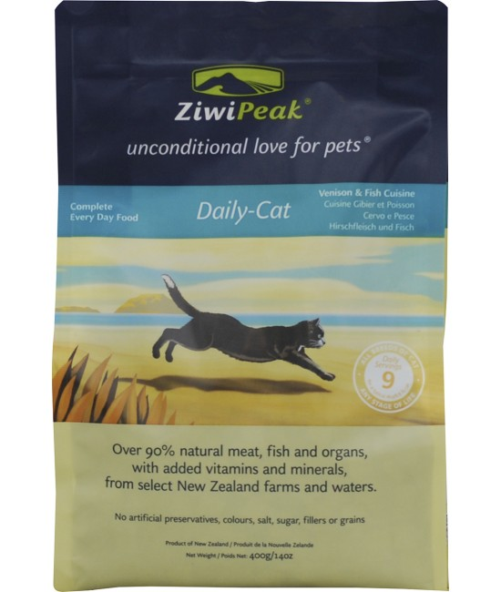 ZiwiPeak 鹿肉加魚貓糧 - 14oz, 貓貓產品, ZiwiPeak 巔峰