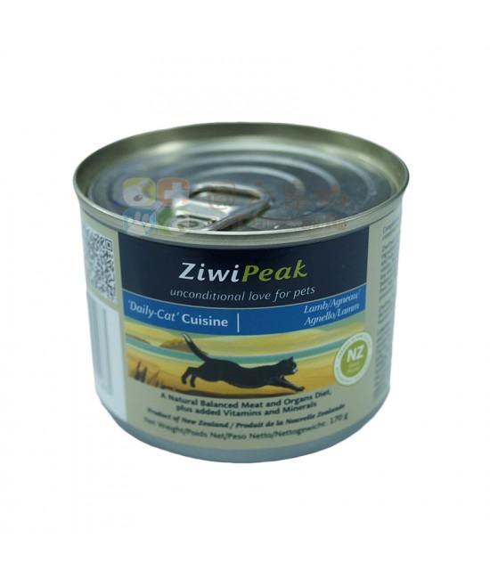 ZiwiPeak 羊肉貓罐頭 - 6oz, 貓貓產品, ZiwiPeak 巔峰