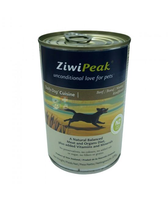 ZiwiPeak 牛肉狗罐頭 - 13oz, 狗狗產品, ZiwiPeak 巔峰