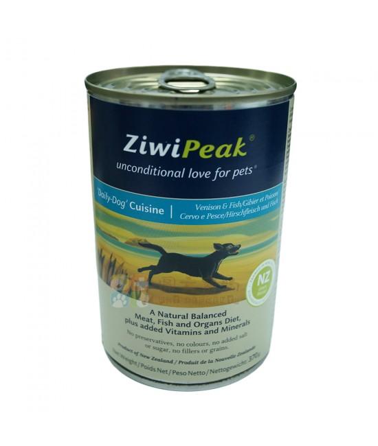 ZiwiPeak 鹿肉加魚狗罐頭 - 13oz, 狗狗產品, ZiwiPeak 巔峰