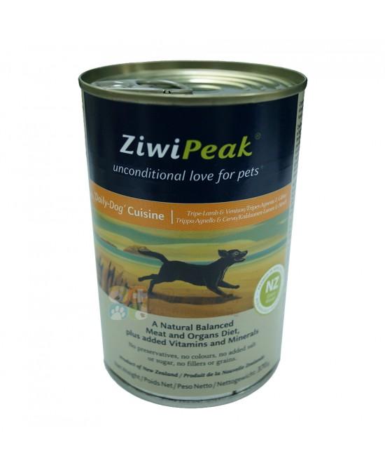 ZiwiPeak 羊肉加鹿肉狗罐頭 - 13oz