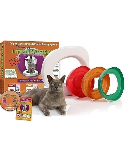 Litter Kwitter 3-Step Cat Toilet Training System 貓廁所訓練系統