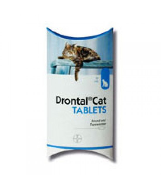 Drontal Cat Tablet 4kg - 1粒