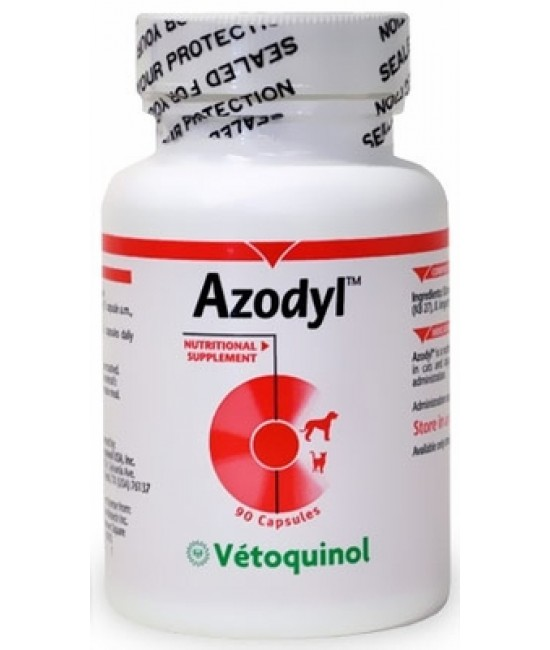 Azodyl Capsules 90s Bottle, Cat Products, Vetoquinol