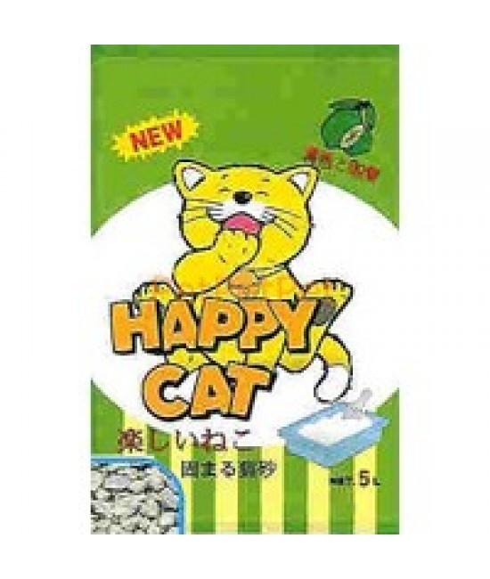 A-3 Happy Cat 青檸抗菌粗貓砂 - 5L