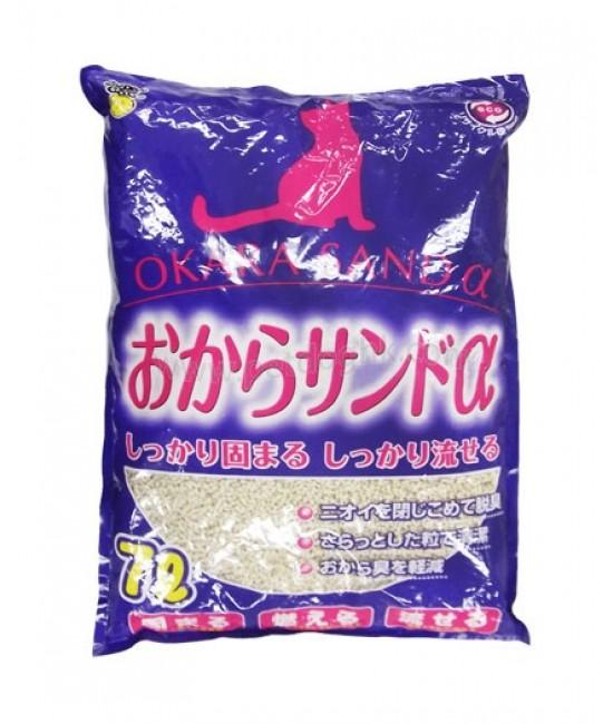 SuperCat 日本環保豆腐砂(紫袋經濟-細粒) 7L (6)