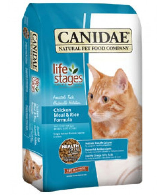 CANIDAE 卡比 鮮雞肉紅米配方貓糧
