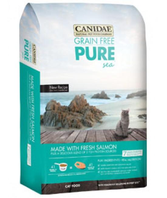 CANIDAE 卡比 無穀物海洋配方貓糧 - 三文魚肉