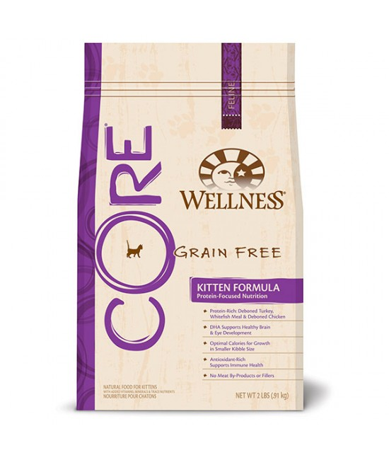 Wellness Core 無穀物幼貓糧, 貓貓產品, Wellness