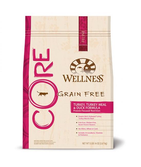 Wellness Core 無穀物火雞拼鴨肉貓糧