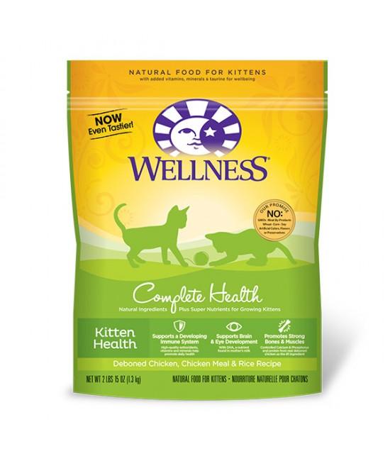 Wellness 全能配方幼貓糧 - 5lb(14oz), 貓貓產品, Wellness