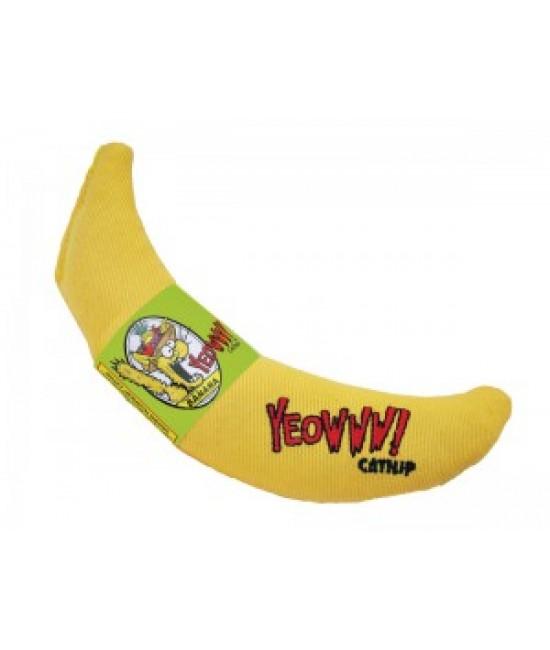 Yeowww! 美國100%天然有機香蕉貓草玩具