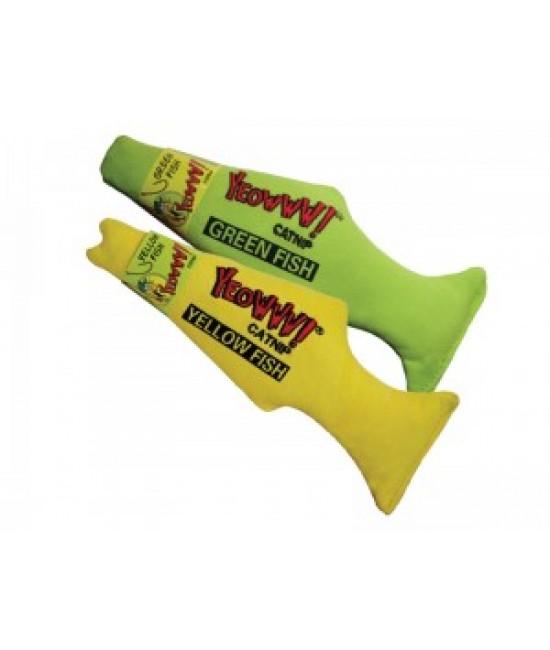 Yeowww! 美國100%天然有機魚貓草玩具