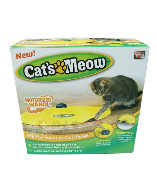 Cat's Meow 圓形電動貓玩具