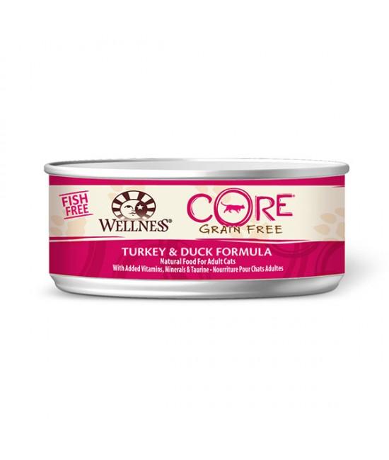 Wellness Core 無穀物貓罐頭 - 火雞拼鴨肉配方 - 5.5oz, 貓貓產品, Wellness
