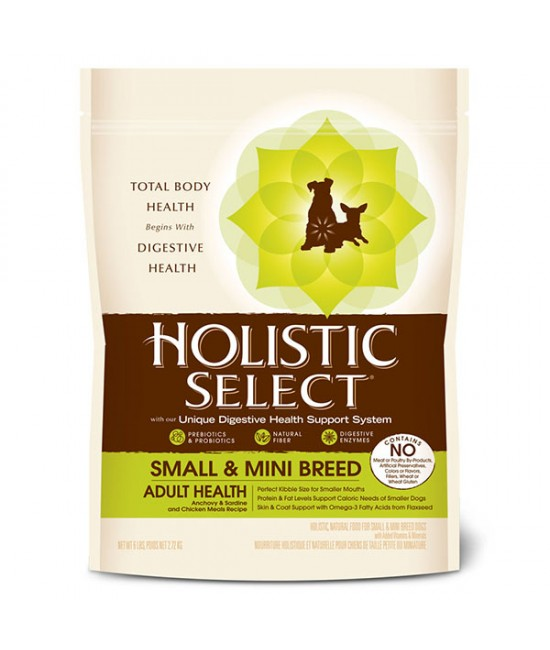 Holistic Select 活力滋 小型成犬專用配方 - 6lb
