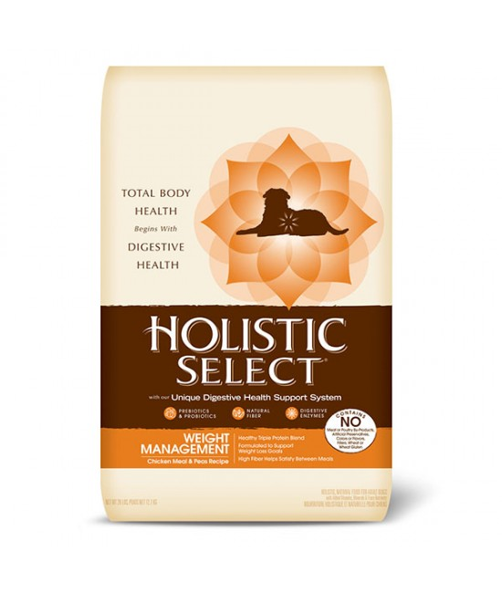 Holistic Select 活力滋 成犬體重控制雞肉糙米配方