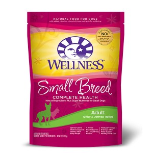 【Best Before: 26/6/2017】Wellness Complete Health Small Breed Adult Dog Food (Turkey & Oatmeal Recipe)