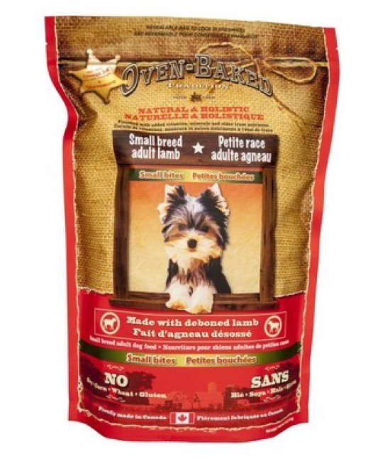Oven-Baked 奧雲寶 紐西蘭羊肉加天然糙米配方成犬糧(細粒)