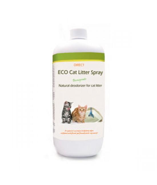 DIRECT ECO 貓砂除臭劑(清新蘭花香味,連噴頭)1公升裝