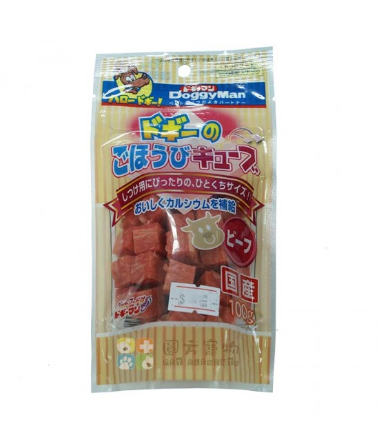 Doggyman 牛肉小方塊 (100g)
