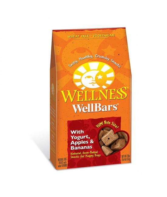 Wellness Wellbars 乳酪、蘋果及香蕉狗小食 - 20oz