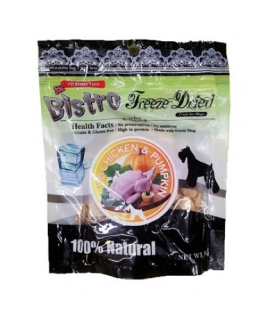 英國Bistro (狗) - 脫水雞肉+南瓜小食 50G